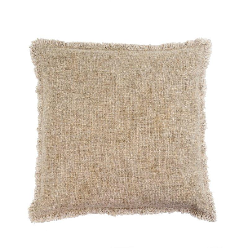 Natural Selena Linen Pillow