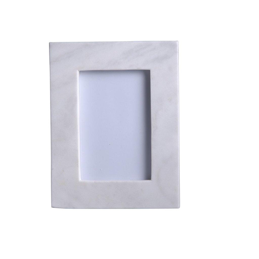 White Marble Photo Frames