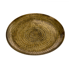 Hammered Gold Trays