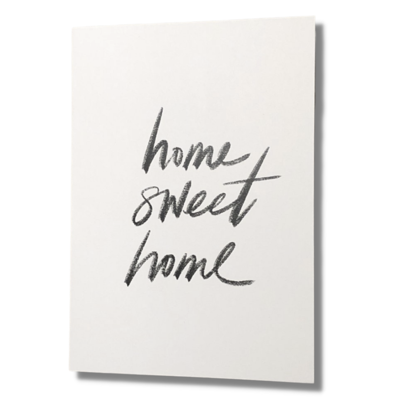 Home Sweet Home Designer Card
