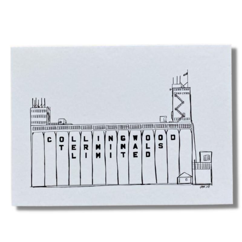 Collingwood Terminals Postcard