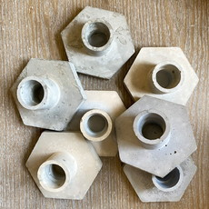 Assorted Concrete Candle Holder