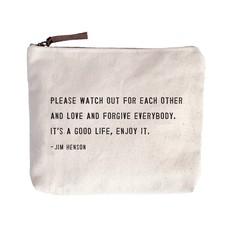 Canvas Zip Bags