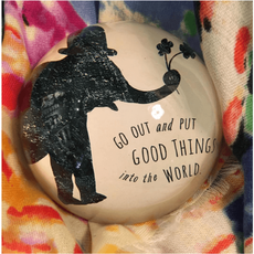 Put Good Things Paperweight
