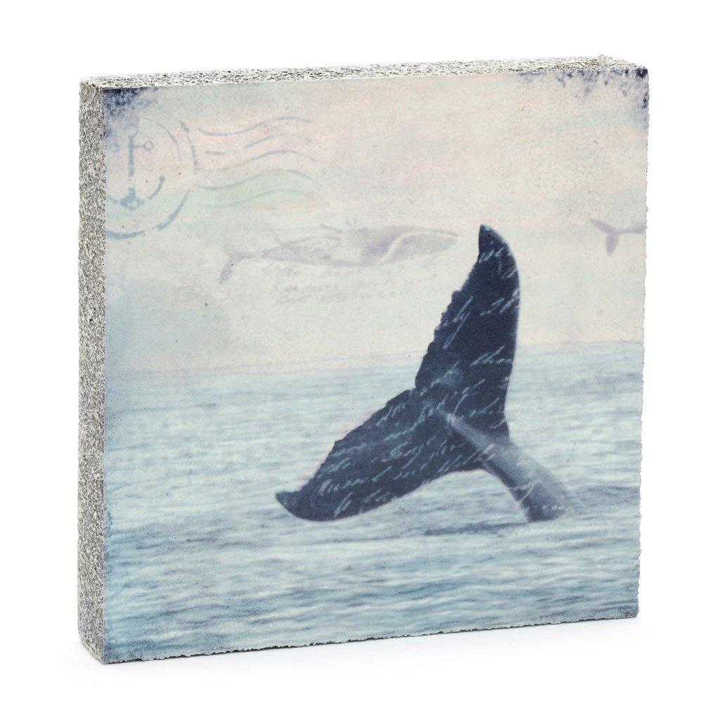 Whale Tail Mini Art Block