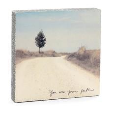 You Are Your Path Mini Art Block