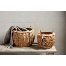 Hyacinth Bead Baskets