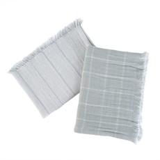 Blue Baker Stripe Tea Towel Set