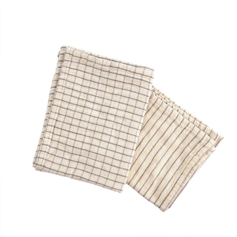 Grey Mathilde Tea Towel Set