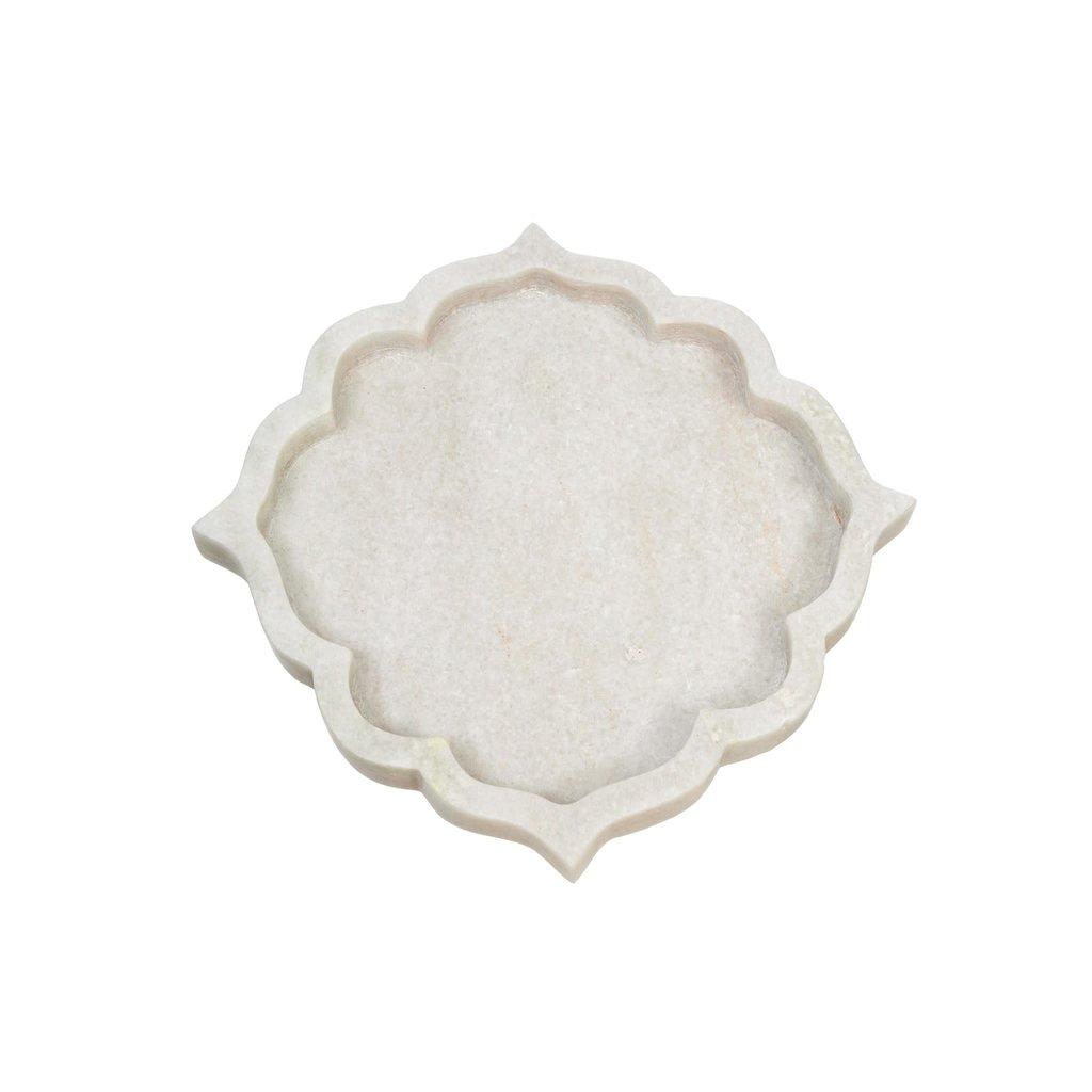 Small Arabesque Marble Tray