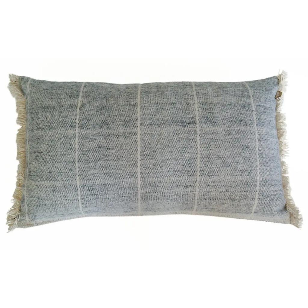 Brushed Stripe Navy Pillow