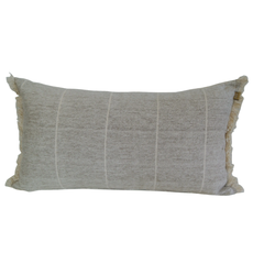 Brushed Stripe Stone Pillow