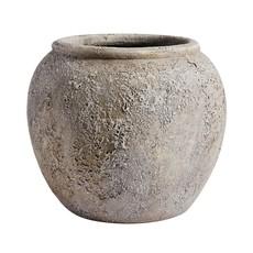 Grey Luna Decorative Pot