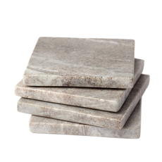 S/4 Galaxy Marble Square Coasters