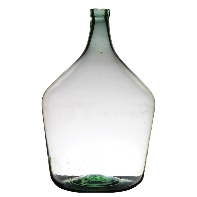 Mouthblown Recycled Glass Bottle