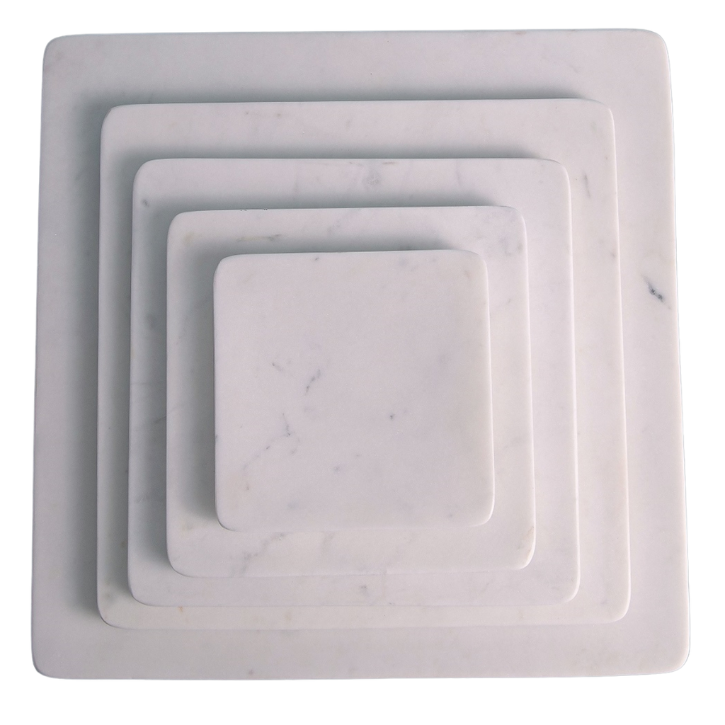 Square Marble Platters