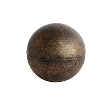 Antique Brass Candle Ball