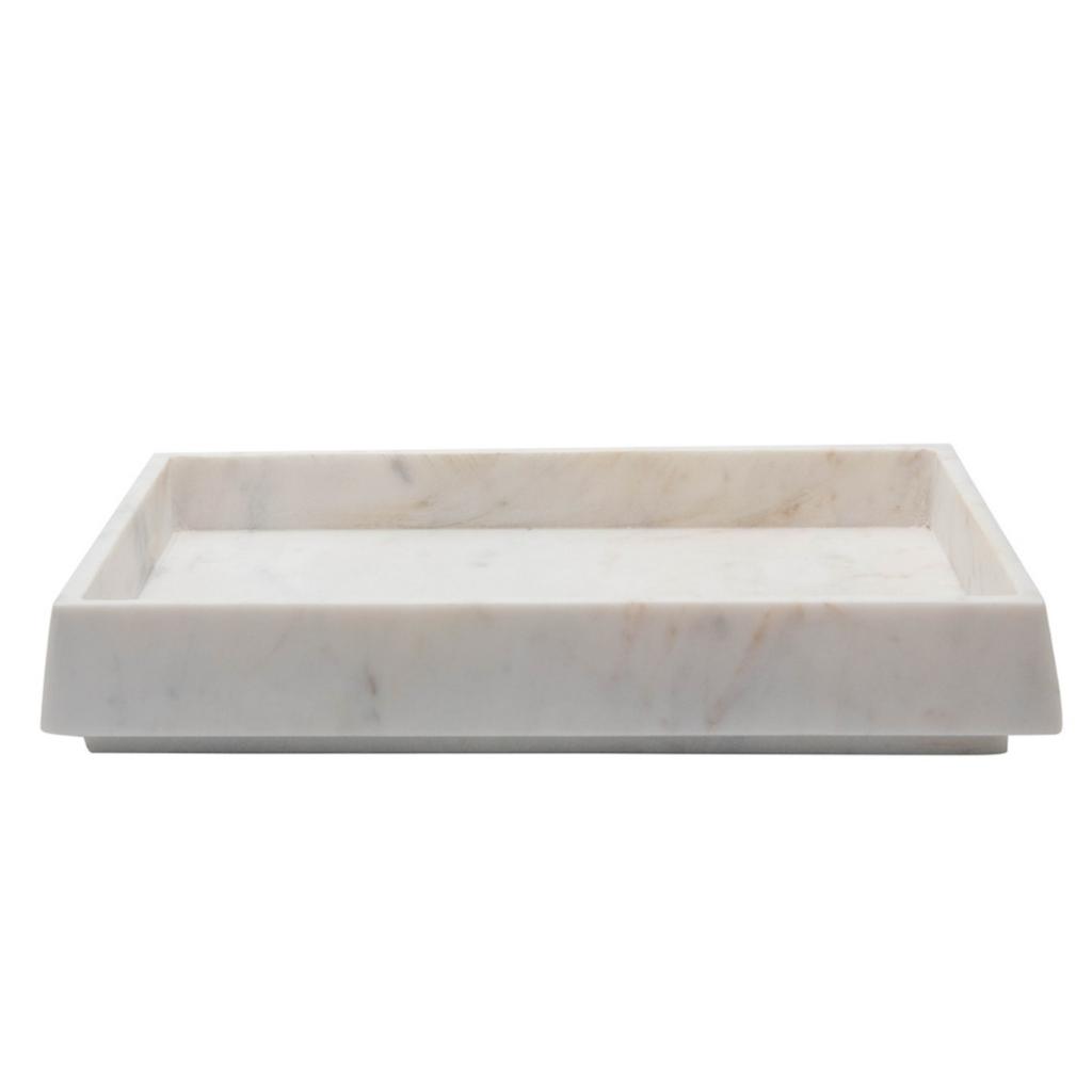 White Marble Tray
