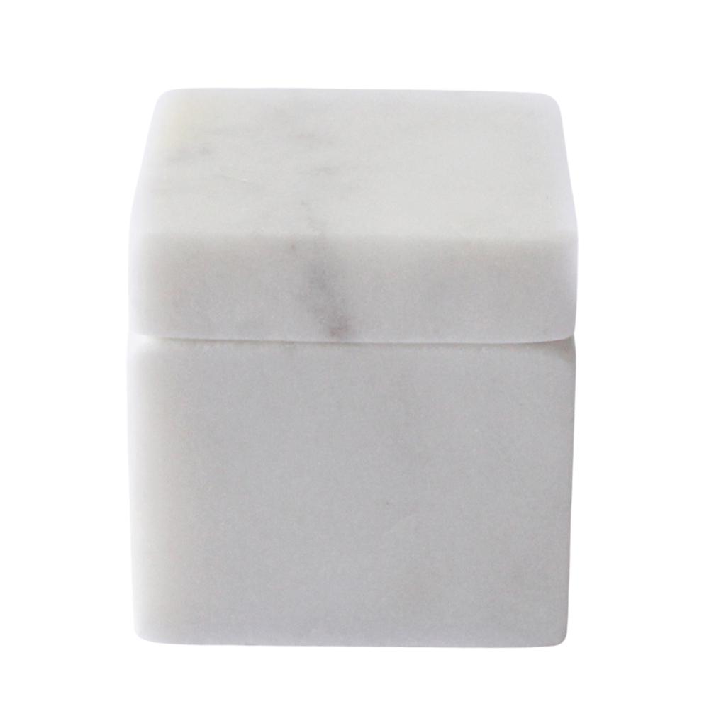 Square Marble Pill Box