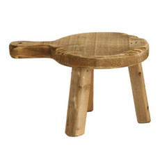 Large Wood Pedestal