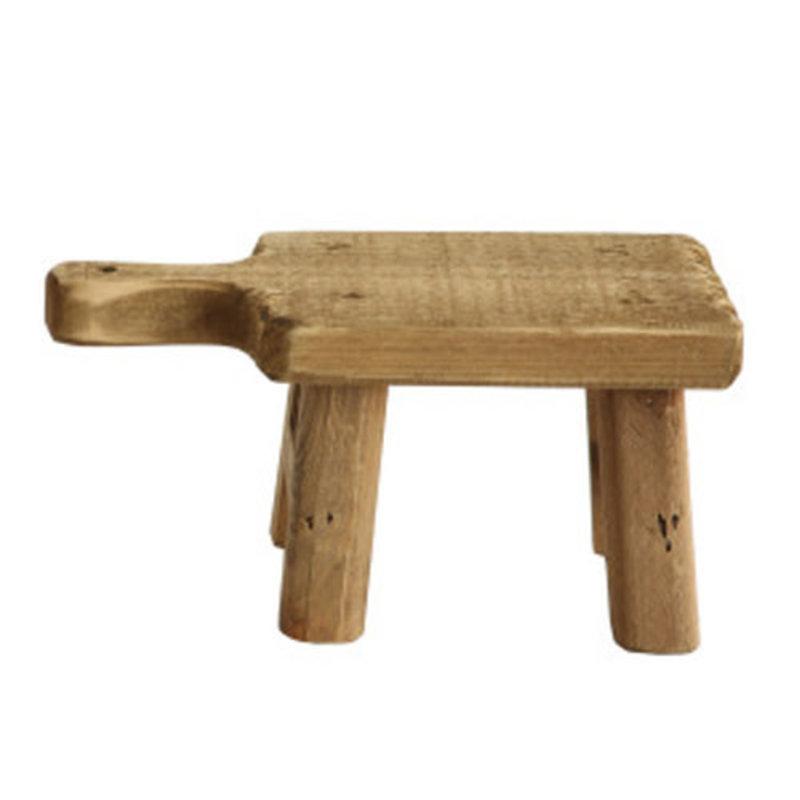 Medium Wood Pedestal