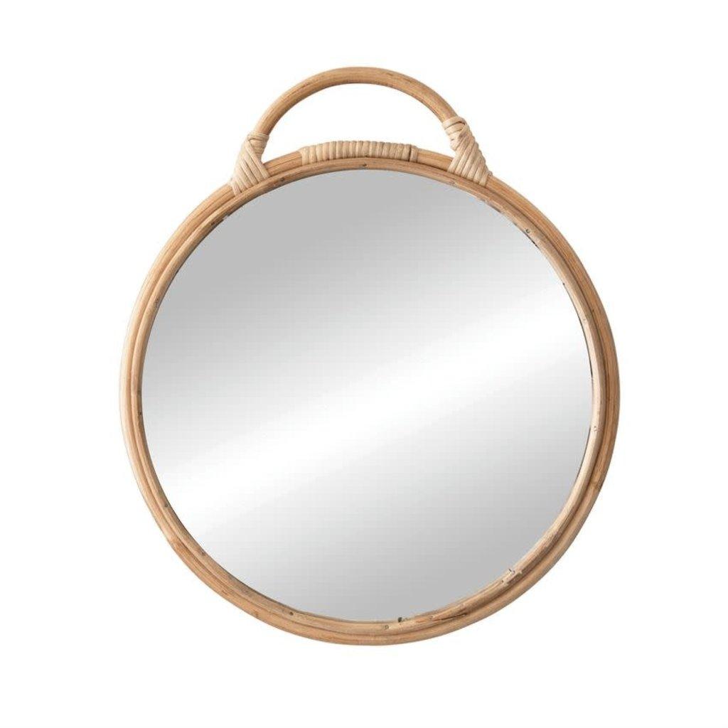 Rattan Mirror