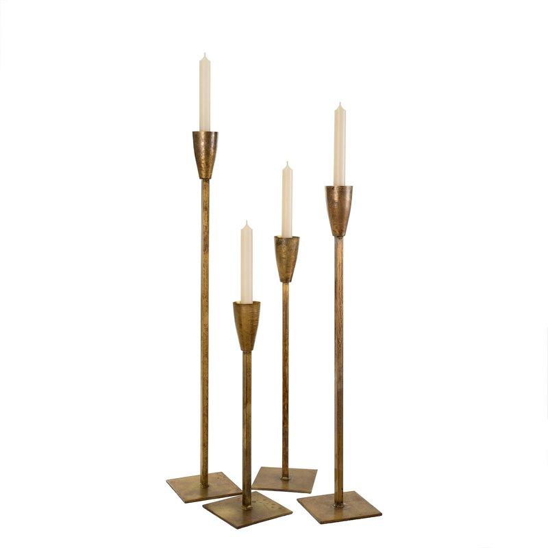 Gold El Grande Candlesticks