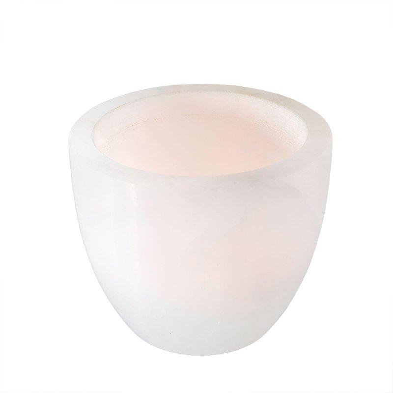 Large Alabaster Tealight Holder