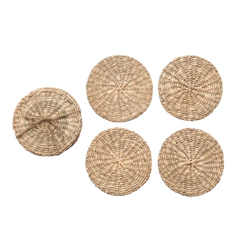 S/4 Seagrass Coasters