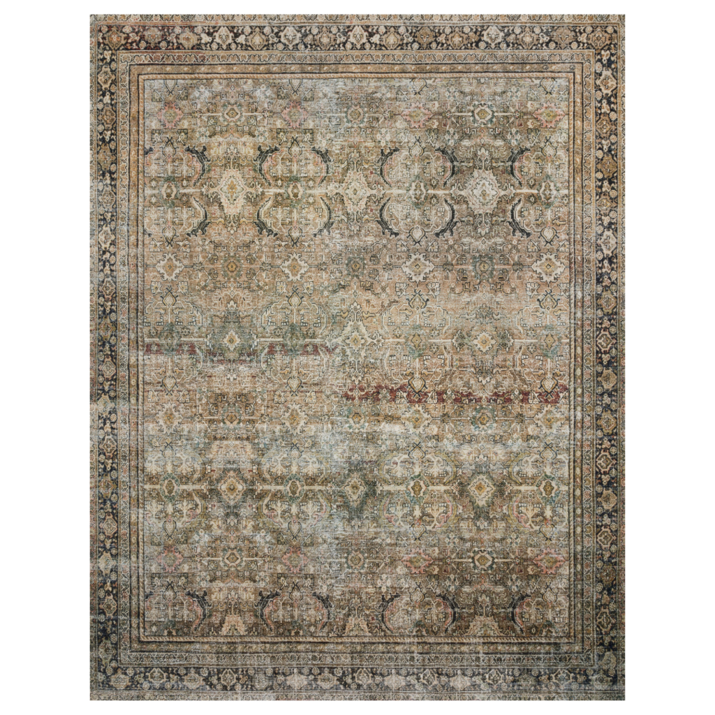 Olive/Charcoal Layla  Rugs