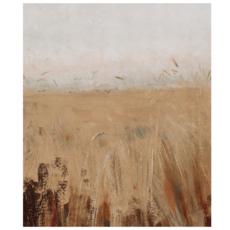 Framed Wheat Field Print