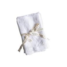 Hem Stitched Linen Napkins