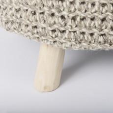 Bina Light Grey 3 Legged Stool