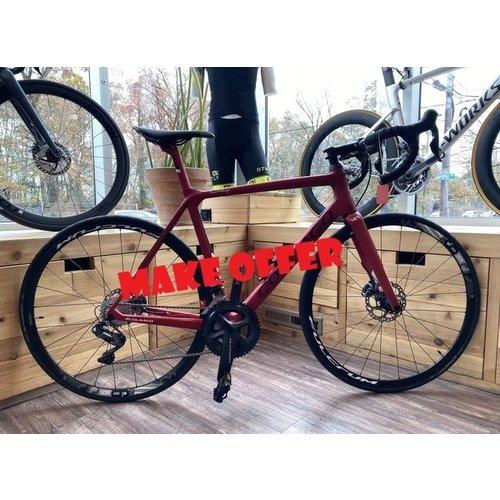 Colnago 2019 V2R Disc - Ultegra DI2 - Satin Pearl Red - 52cm