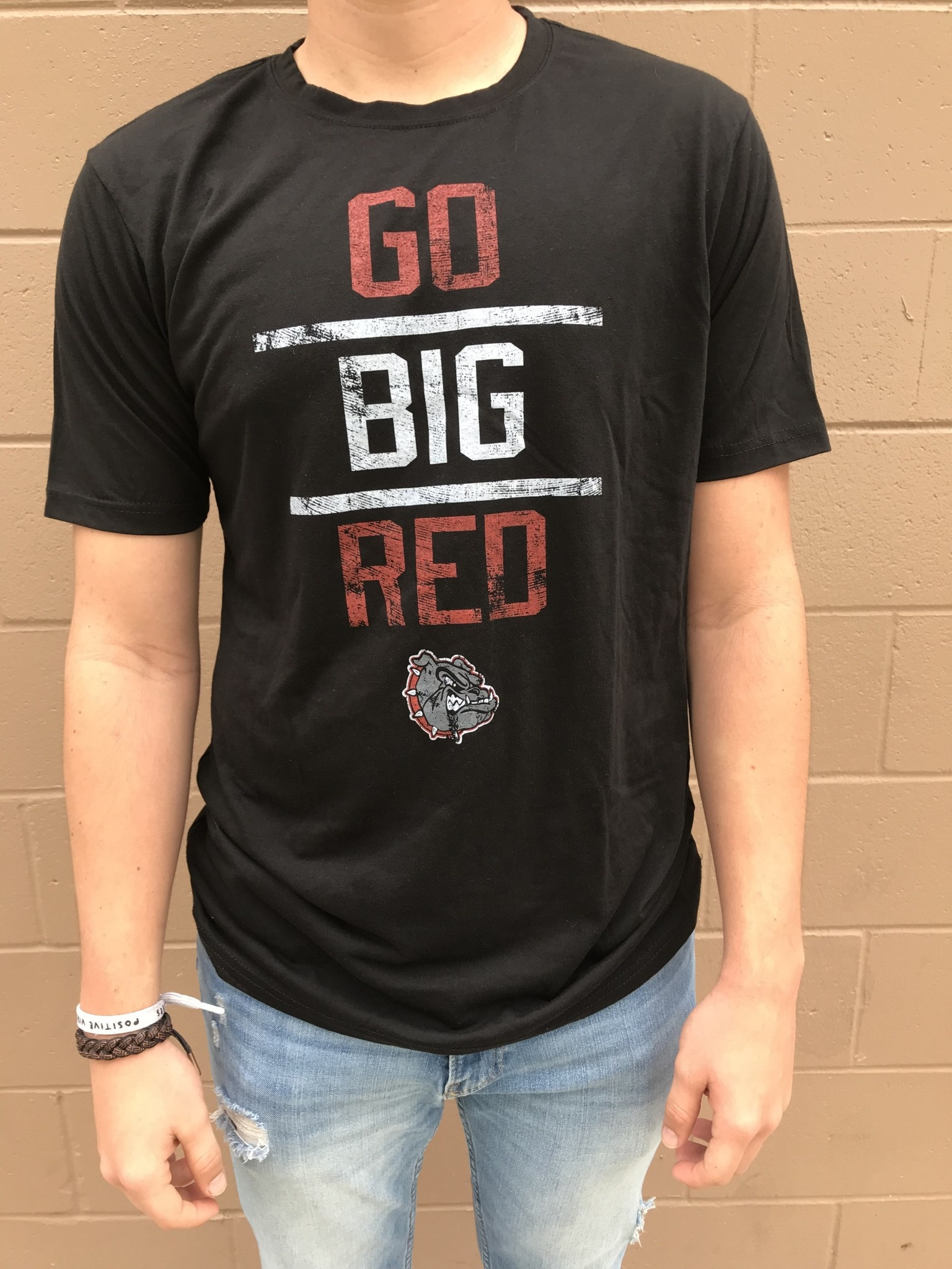 HHS Go Big Red Tee