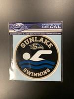 Sunlake Swim Decal