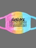 Sunlake Tie Dye Face Mask- Eternity