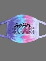 Sunlake Tie Dye Face Mask- Cotton Candy