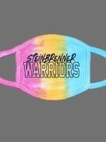Steinbrenner Tie Dye Face Mask- Eternity