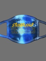 Steinbrenner Tie Dye Face Mask- Blue Ocean