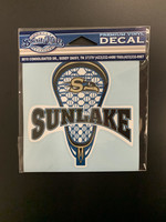 Sunlake Lacrosse Decal