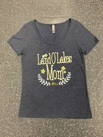 Land O' Lakes Mom Scoop Neck Tee