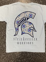 Warrior Head Color Collection Floral Tee