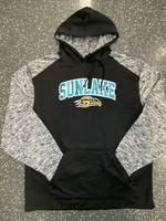 Sunlake Sport Blend Dri-fit Hooded Sweatshirt