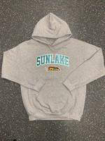 Sunlake Sport Grey No-Sew Custom Hoodie