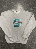 Sunlake Sport Grey No-Sew Custom Crewneck