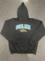 Sunlake Black No-Sew Custom Hoodie