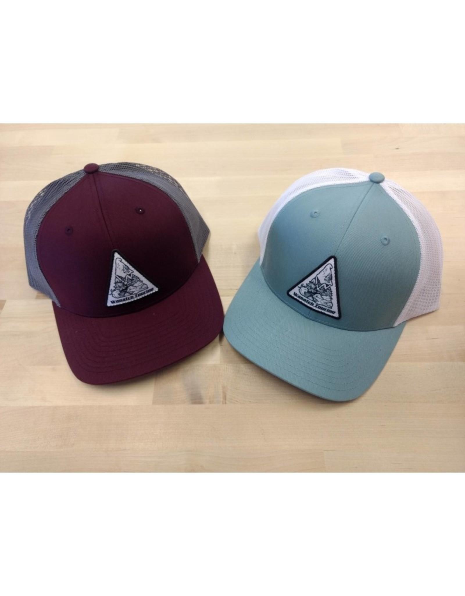 Capteur Hats Wasatch Mountainscape Trucker Hat