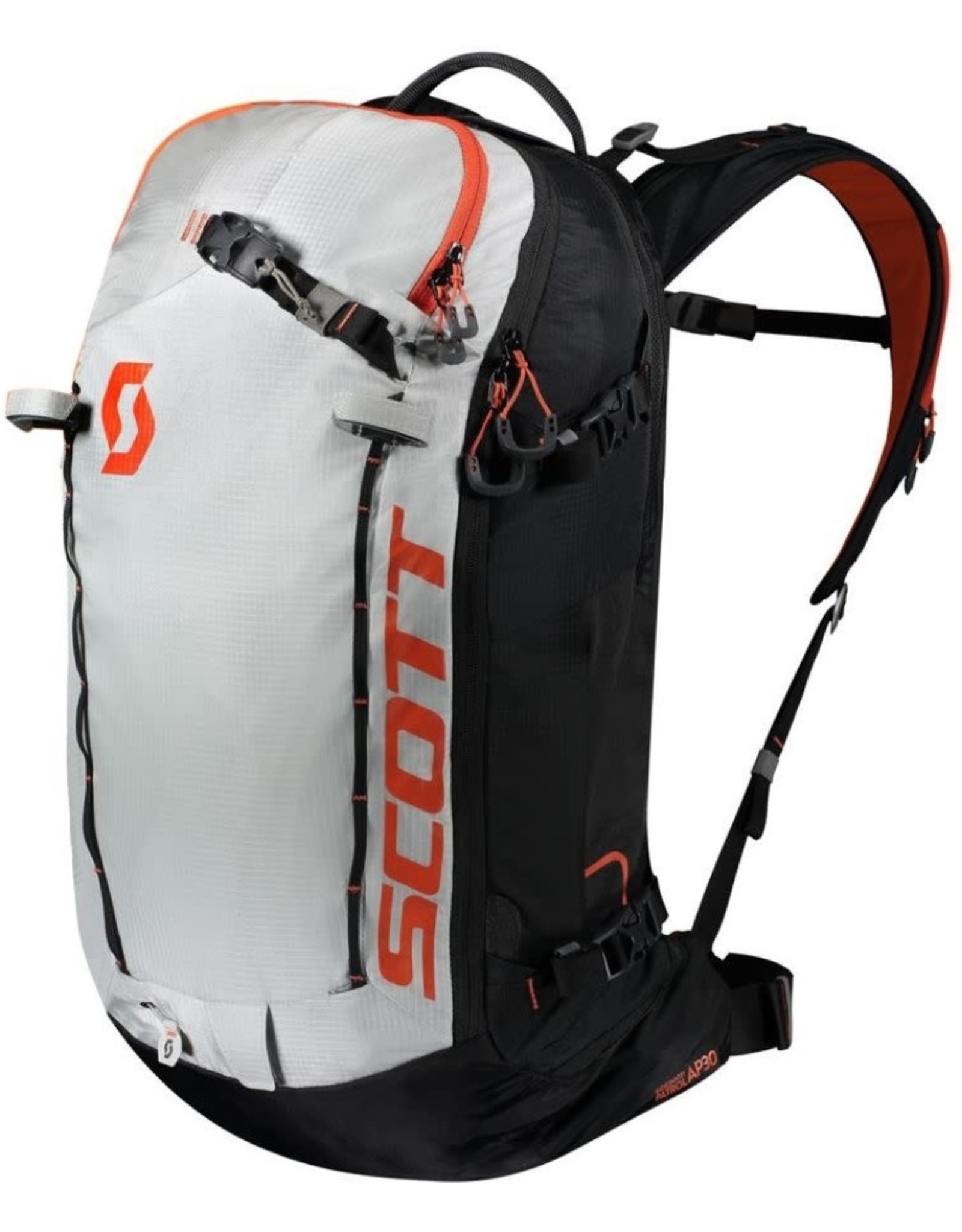 Scott Sports Patrol E1 30L airbag pack - Blk/Tangerine NL