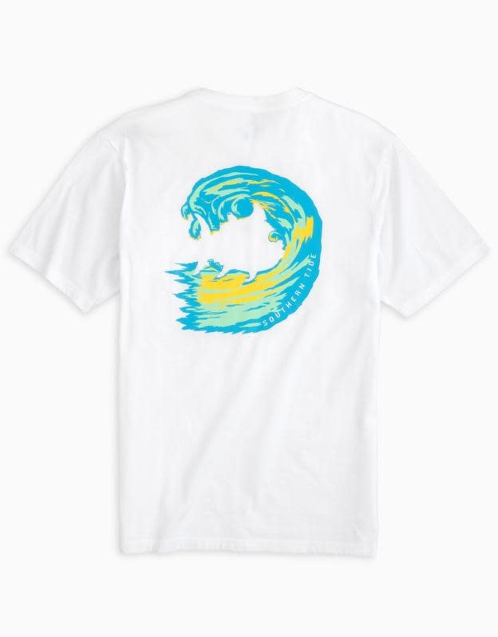 Southern Tide Skipjack Wave SS Tee